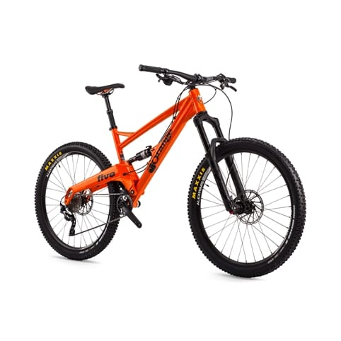 "Orange Five Pro-Line 27.5"" Full Suspension MTB Bike 2016"