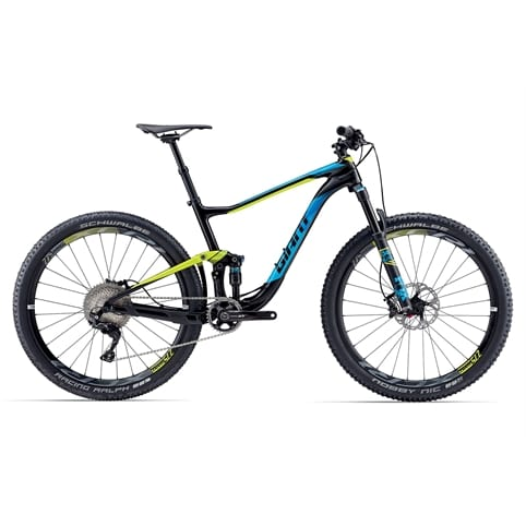GIANT ANTHEM ADVANCED 1 650b FS MTB BIKE 2017