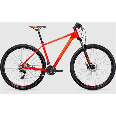 CUBE ATTENTION 29 HARDTAIL MTB BIKE 2017