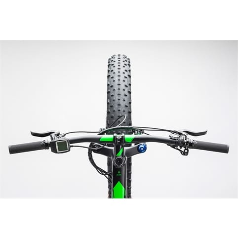 Cube NUTRAIL HYBRID 500 FAT HARDTAIL E-BIKE  2017