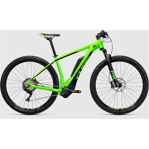 CUBE REACTION HYBRID HPA SLT 500 29 HARDTAIL E-BIKE 2017