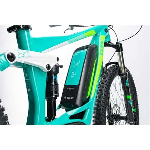 Cube STING WLS HYBRID 120 SL 500 27.5 FULL SUSPENSION E-BIKE 2017