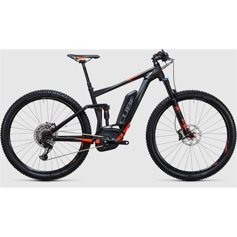 Cube STEREO HYBRID 120 HPA SL 500 27.5 FULL SUSPENSION E-BIKE 2017