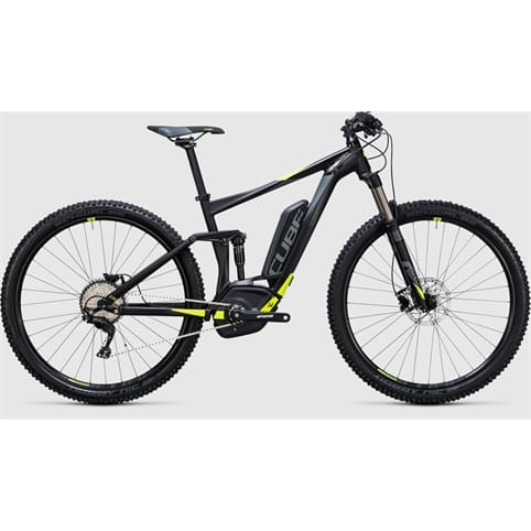 Cube STEREO HYBRID 120 HPA Pro 500 29 FULL SUSPENSION E-BIKE 2017