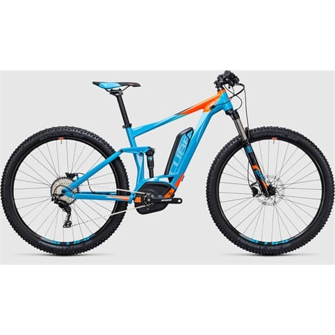 CUBE STEREO HYBRID 120 HPA Pro 500 650b FULL SUSPENSION E-BIKE 2017