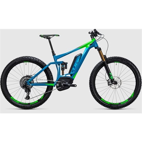 Cube STEREO HYBRID 140 HPA SLT 500 27.5+ FULL SUSPENSION E-BIKE 2017