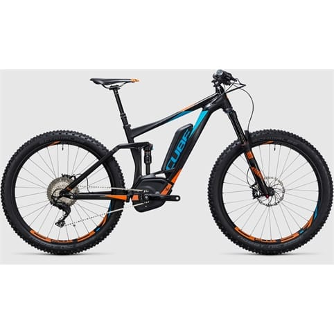 CUBE STEREO HYBRID 140 HPA SL 500 27.5+ FULL SUSPENSION E-BIKE 2017
