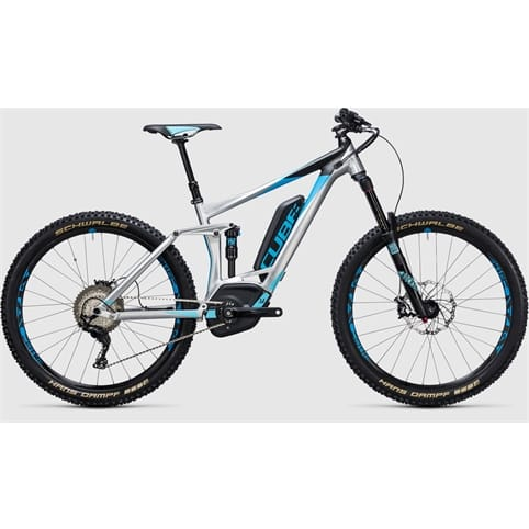 Cube STEREO HYBRID 160 HPA Race 500 27.5 FULL SUSPENSION E-BIKE 2017