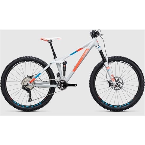 Cube STING WLS 140 SL Full Suspension MTB Bike 2017