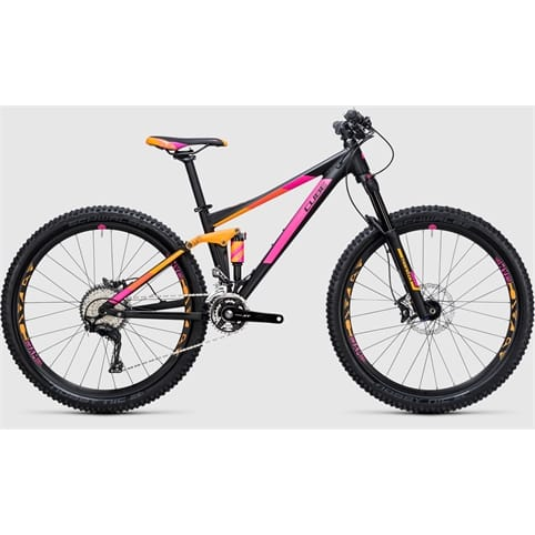 Cube STING WLS 120 PRO 27.5 Full Suspension MTB Bike 2017