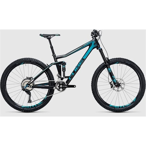 Cube STEREO 160 C:62 RACE 27.5 MTB Bike 2017