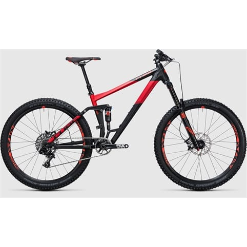 CUBE STEREO 160 HPA RACE 650b FULL SUSPEND MTB BIKE 2017