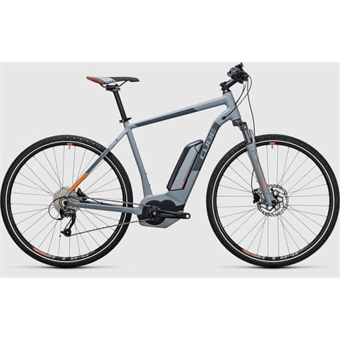 Cube CROSS HYBRID ONE 400 E-BIKE 2017