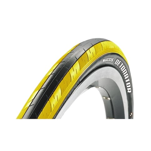 "MAXXIX DETONATOR FOLDING 26"" TYRE [BLACK/YELLOW]"