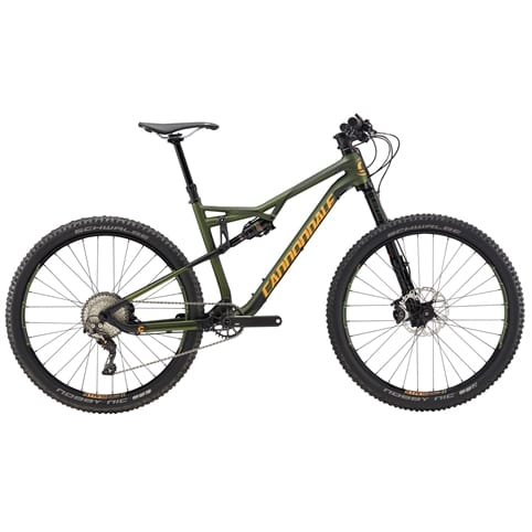 CANNONDALE HABIT CARBON 2 27.5 FS MTB BIKE 2017