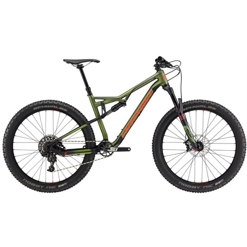 CANNONDALE BAD HABIT CARBON 2 FS 27+ MTB BIKE 2017