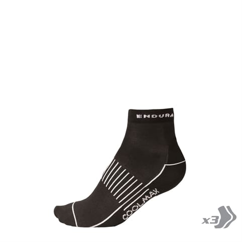 ENDURA COOLMAX RACE II SOCK [3-PACK]