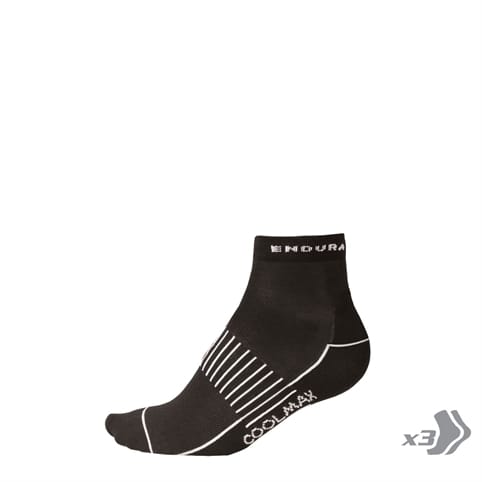 ENDURA WMS COOLMAX RACE SOCK [3-PACK]