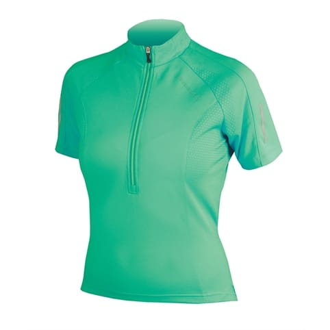Endura Womens Xtract Short Sleeve Jersey [GREEN]