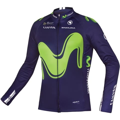 Endura Movistar Team L/S Jersey 2017