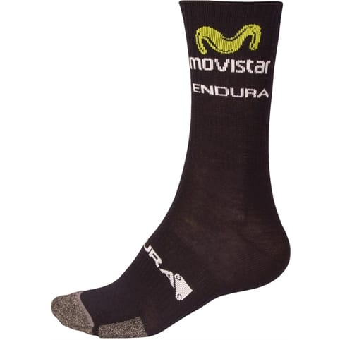 Endura Movistar Team Winter Sock 2017 (Single)