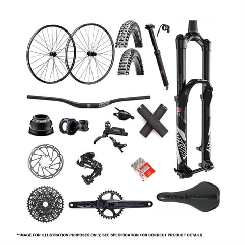 TRANSITION PATROL CARBON FRAME SET 2017 + PARTS KIT 3