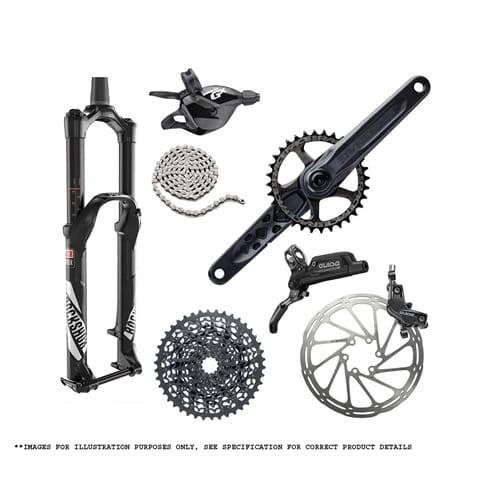TRANSITION SMUGGLER 29 FRAME SET 2017 + PARTS KIT 3