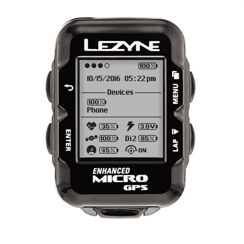 LEZYNE MICRO GPS LOADED BUNDLE