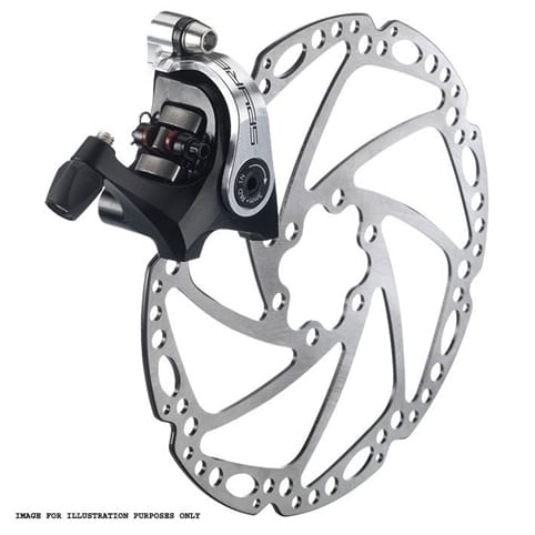 TRP SPYRE DISC BRAKE - SLC FLAT MOUNT REQUIRES ROTORS AND MOUNTS