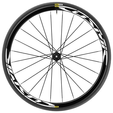 MAVIC COSMIC ELITE UST DISC 6 BOLT CLINCHER FRONT WHEEL 2018