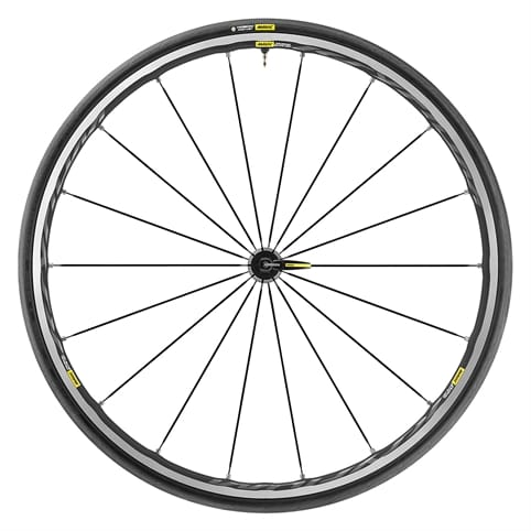 MAVIC KSYRIUM ELITE UST CLINCHER FRONT WHEEL 2018