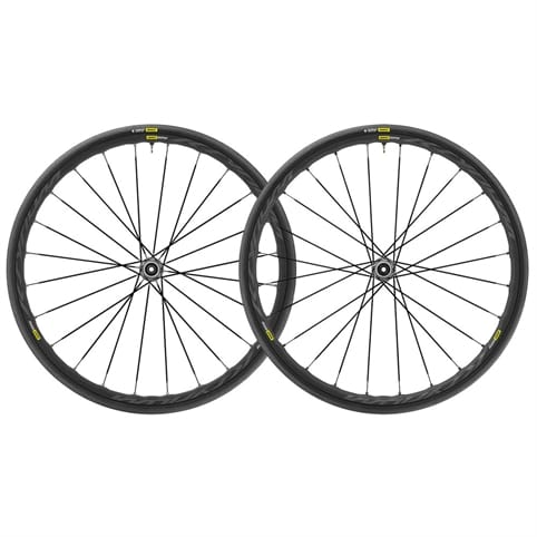 MAVIC KSYRIUM ELITE UST DISC 6 BOLT CLINCHER FRONT WHEEL 2018