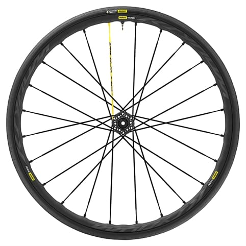 MAVIC KSYRIUM PRO UST DISC CENTRE LOCK CLINCHER FRONT WHEEL 2018