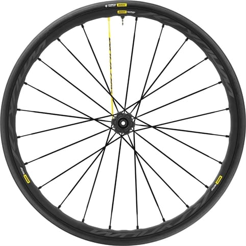 MAVIC KSYRIUM PRO UST DISC CENTRE LOCK CLINCHER REAR WHEEL 2018