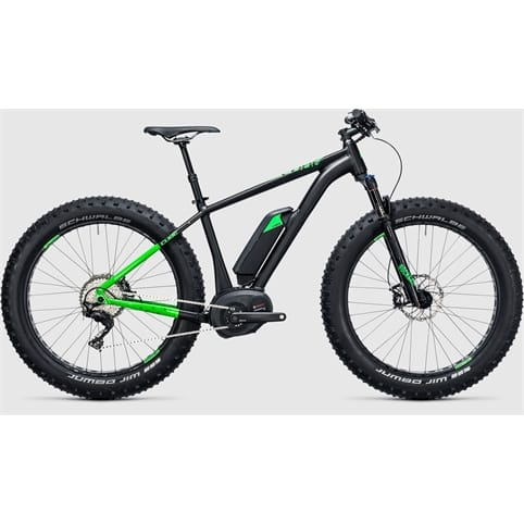 CUBE NUTRAIL HYBRID 500 FAT HARDTAIL E-BIKE 2017 **EX DEMO BIKE**