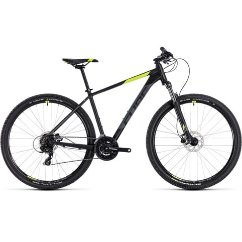 CUBE AIM PRO 650b HARDTAIL MTB BIKE 2018