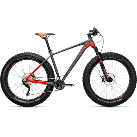 CUBE NUTRAIL HARDTAIL FATBIKE 2018
