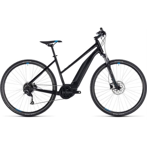 CUBE CROSS HYBRID ONE 400 TRAPEZE E-BIKE 2018