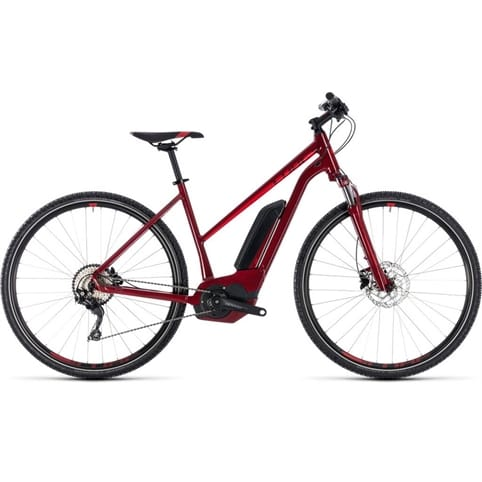 CUBE CROSS HYBRID PRO TRAPEZE 500 E-BIKE 2018