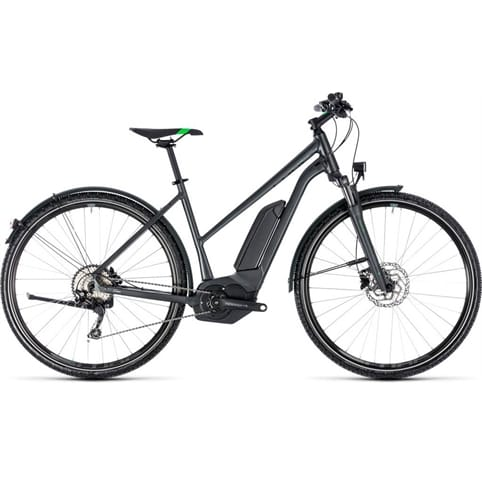 CUBE CROSS HYBRID PRO ALLROAD TRAPEZE 400 E-BIKE 2018