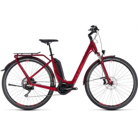 CUBE TOURING HYBRID EXC EASY ENTRY 500 E-BIKE 2018