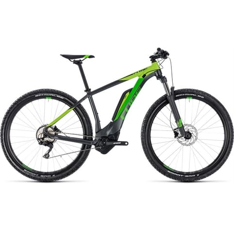 CUBE REACTION HYBRID PRO 400 650b HARDTAIL E-MTB BIKE 2018