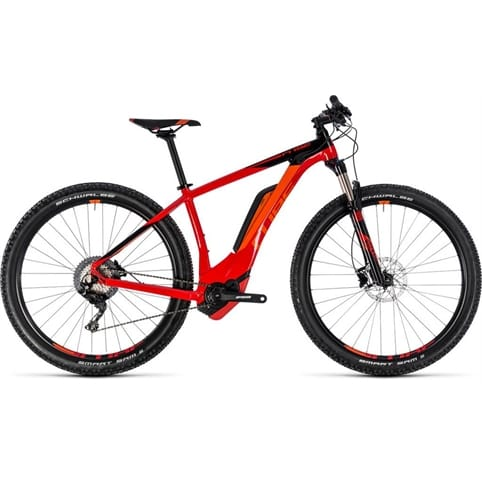 CUBE REACTION HYBRID RACE 500 650b HARDTAIL E-MTB BIKE 2018