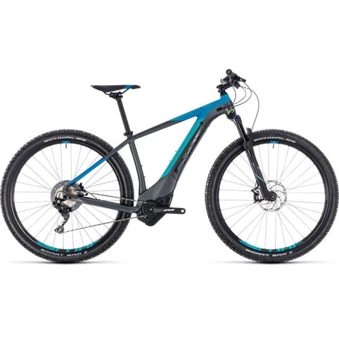 CUBE REACTION HYBRID SL 500 650b HARDTAIL E-MTB BIKE 2018
