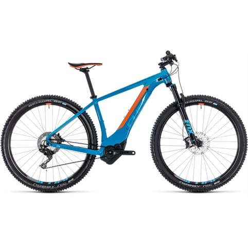 CUBE REACTION HYBRID SLT 500 29 HARDTAIL E-MTB BIKE 2018