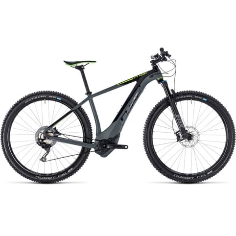 CUBE REACTION HYBRID SLT 500 650b HARDTAIL E-MTB BIKE 2018