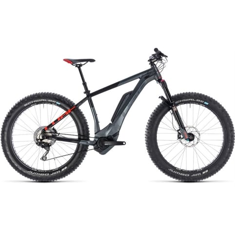 CUBE NUTRAIL HYBRID 500 HARDTAIL FAT E-MTB BIKE 2018