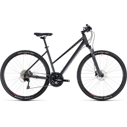 CUBE NATURE EXC TRAPEZE HYBRID BIKE 2018