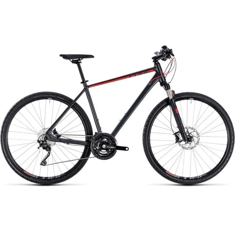 CUBE CROSS EXC HYBRID BIKE 2018