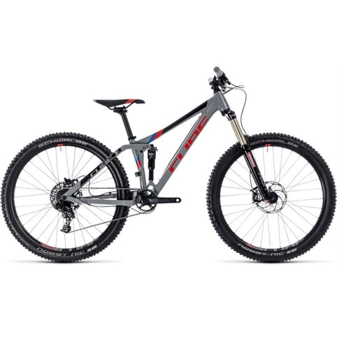 CUBE STEREO 140 YOUTH FS MTB BIKE 2018